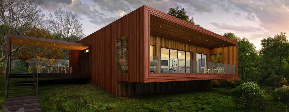 14 dise os de casas en 3d para inspirarte - Diseno de casa en 3d ...