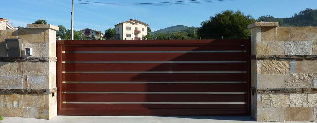 15 esempi di cancelli d 39 ingresso per valorizzare casa - Cancello porta ingresso ...