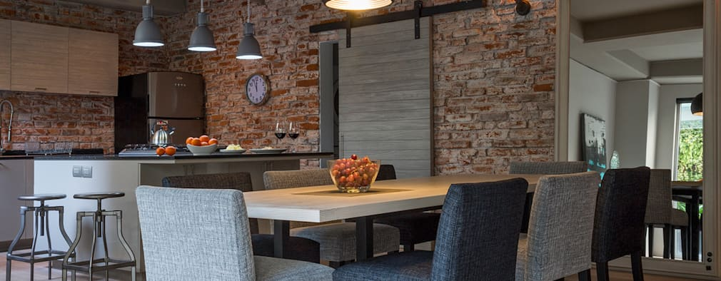 17 ideas para revestir las paredes de tu comedor for Revestir y decorar