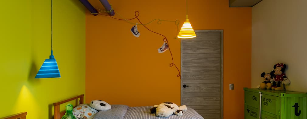 modern Nursery/kid's room by MARIANGEL COGHLAN