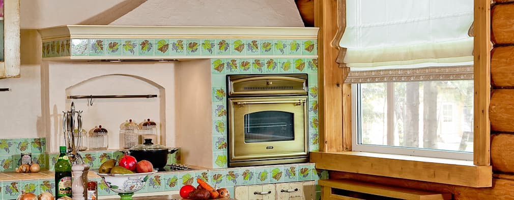 10 lindas cocinas r sticas llenas de personalidad - Campana extractora rustica ...