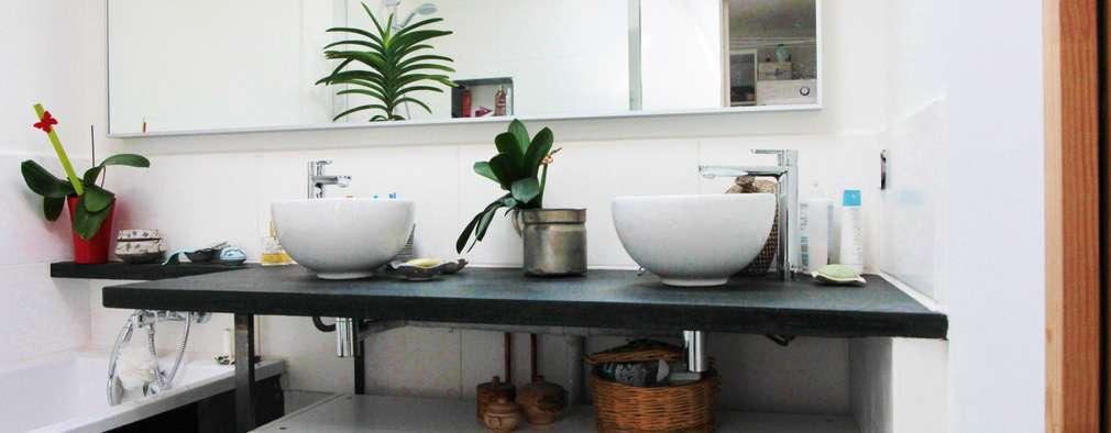 Vorher nachher abstellraum wird zum luxuri sen badezimmer for Badezimmer design app
