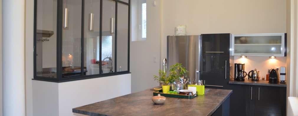 Projekty,  Kuchnia zaprojektowane przez LAUREN CREATION