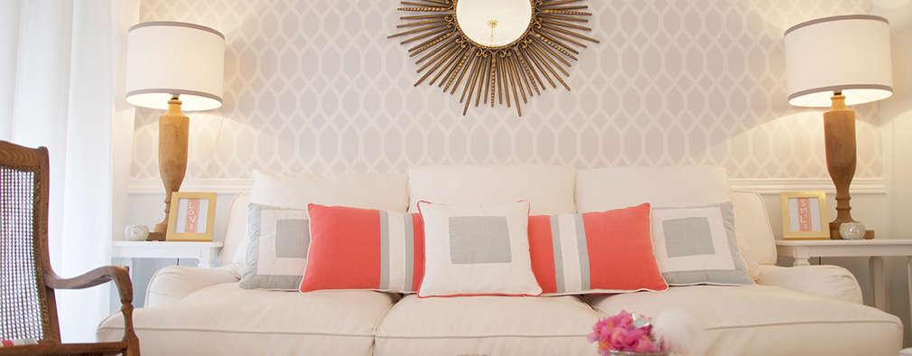 Phòng khách by Catarina Batista Studio