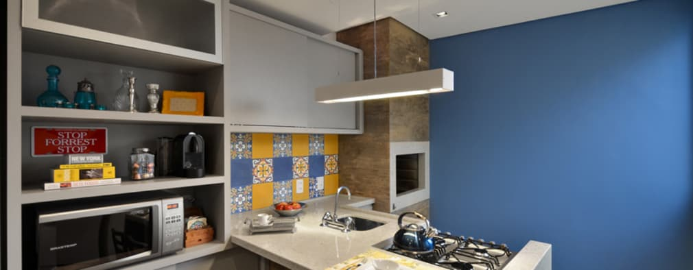 modern Kitchen by ABHP ARQUITETURA