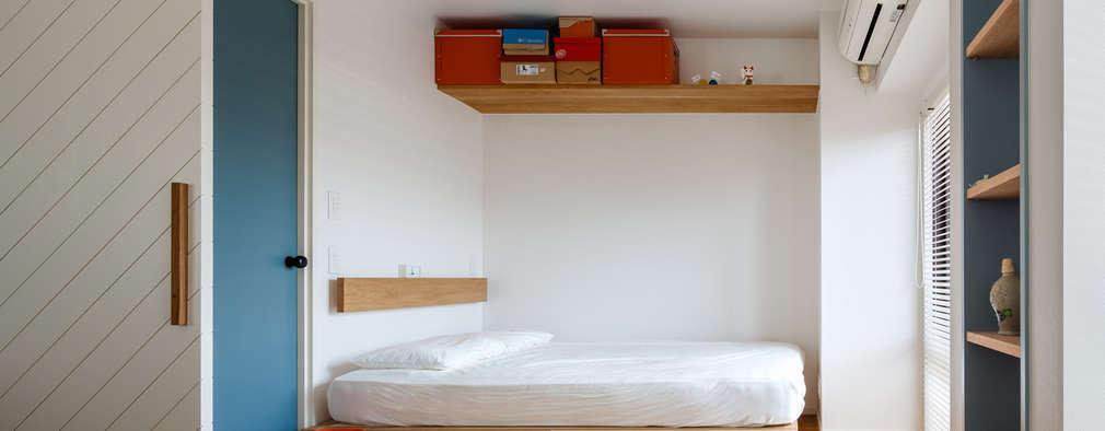 渋谷区の住宅: sorama me Inc.が手掛けた寝室です。