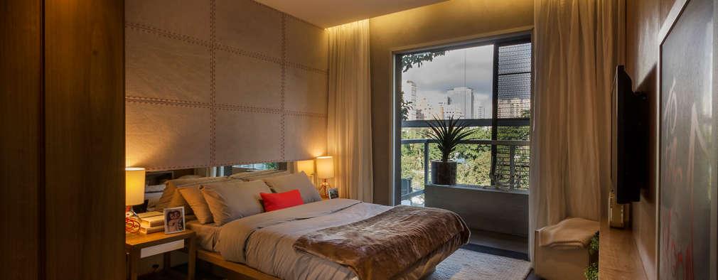 minimalistische Slaapkamer door Studiodwg Arquitetura e Interiores Ltda.