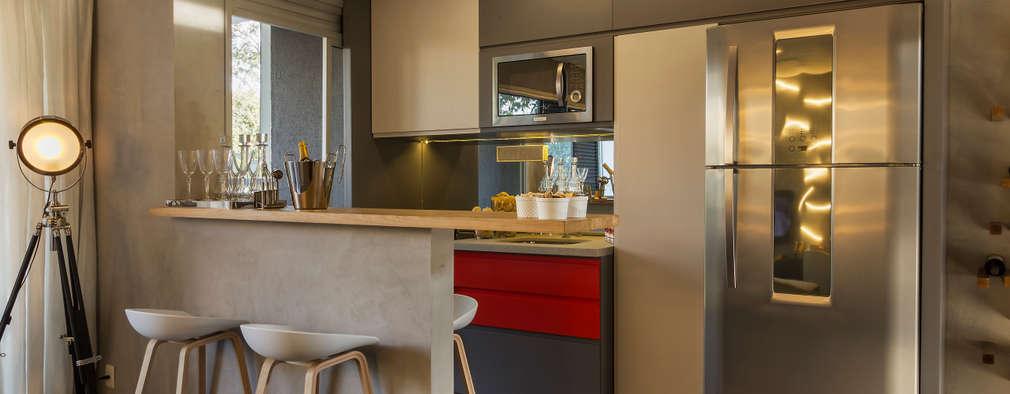 مطبخ تنفيذ Studiodwg Arquitetura e Interiores Ltda.