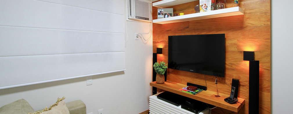 20 muebles ideales para colocar la televisi n si tu casa es peque a - Televisor para cocina ...