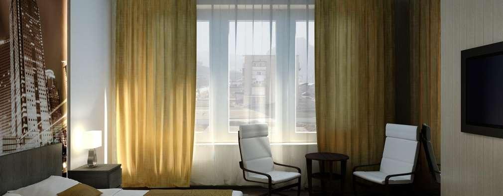 Ikea Schlafzimmer Zubehor 2 #27: Minimalistische Schlafzimmer Von Дизайн студия U0027Exmodu0027 Павел Цунев