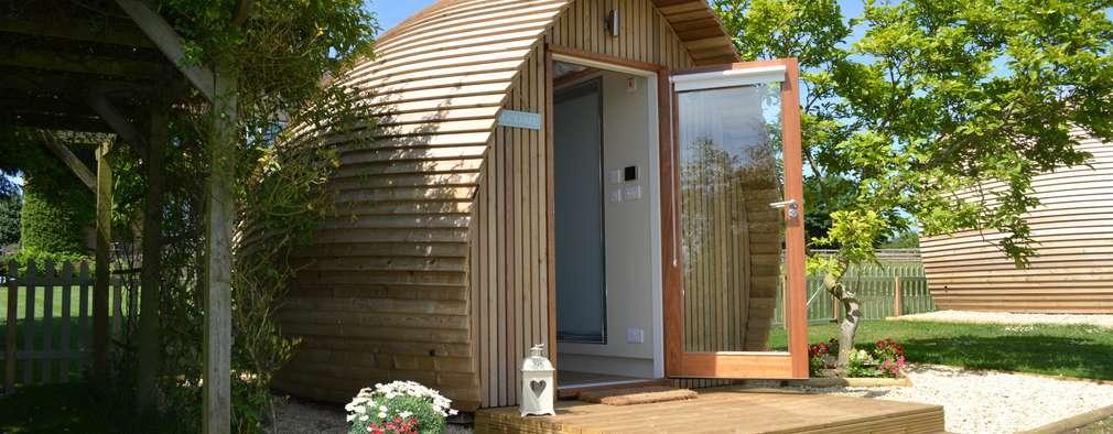 Projekty,  Sypialnia zaprojektowane przez Armadilla Pods