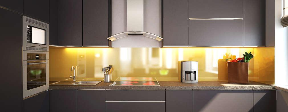 مطبخ تنفيذ Polovets design studio