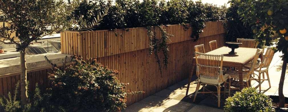 a.s.paisajimo: akdeniz tarzı tarz Bahçe