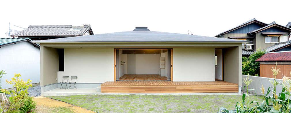 Projekty, skandynawskie Domy zaprojektowane przez miyukidesign