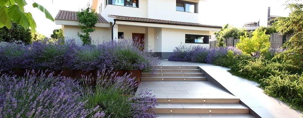 Projekty,  Ogród zaprojektowane przez Estudio de paisajismo 2R PAISAJE