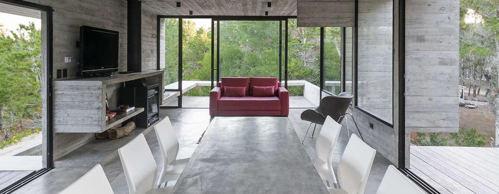 غرفة السفرة تنفيذ Besonías Almeida arquitectos