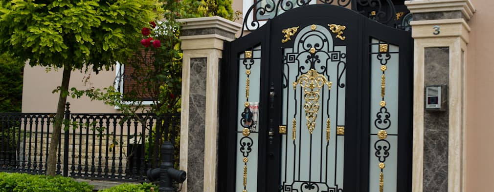 entrance gate designs for home. Modern Garden By Teknik Metal Ferforje 14 Fantastic Entrance Gate Ideas For Your Home
