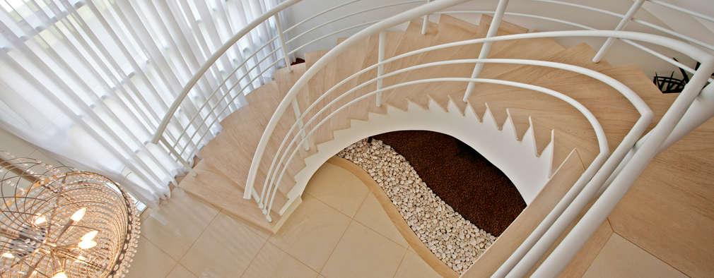 35 ideas espectaculares para escaleras en espiral - Escalera en espiral ...