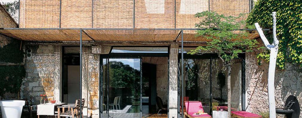 modern Houses by atelier julien blanchard architecte dplg
