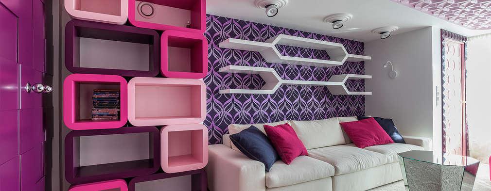 Ideas de repisas y estantes modernos para tu casa for Estantes modernos