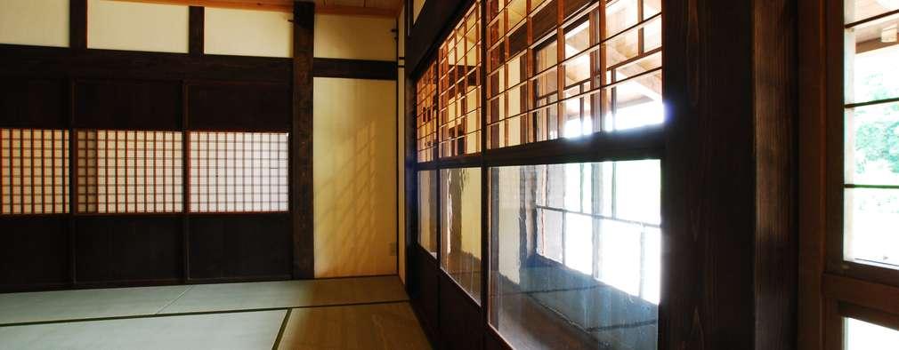 京建具: WOOD PROが手掛けた窓です。