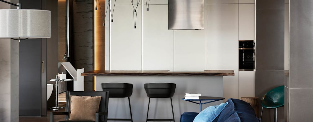 minimalistic Kitchen by INCUBE Алексея Щербачёва