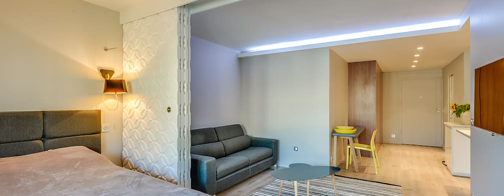 modern Living room by blackStones