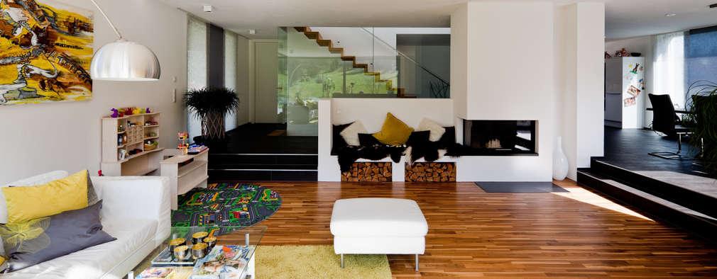 modern Living room by brügel_eickholt architekten gmbh