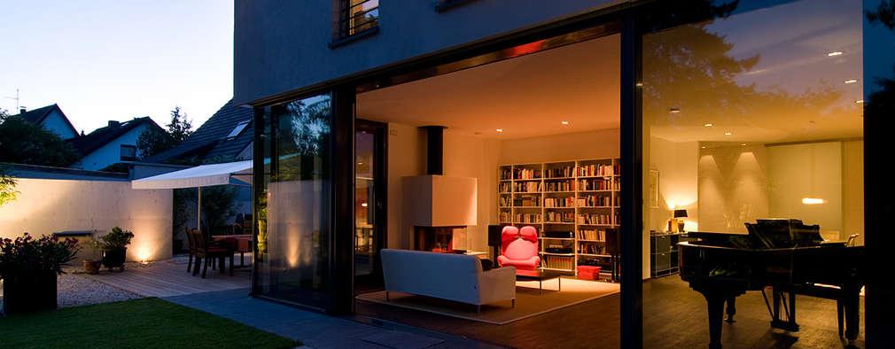 modern Living room by wirges-klein architekten