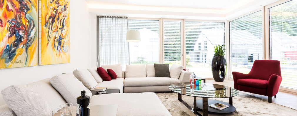 Projekty,  Salon zaprojektowane przez ARKITURA GmbH