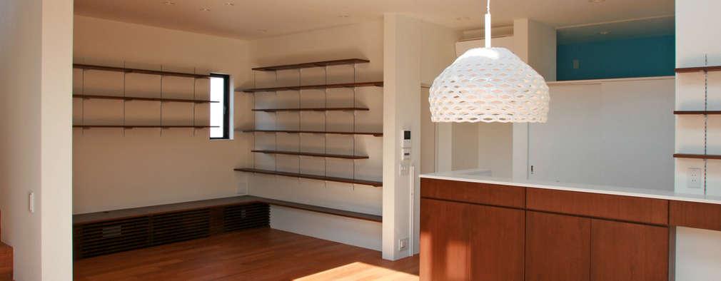modern Dining room by 設計事務所アーキプレイス