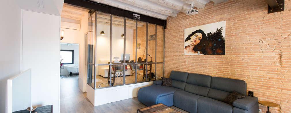 Projekty,  Salon zaprojektowane przez Global Projects