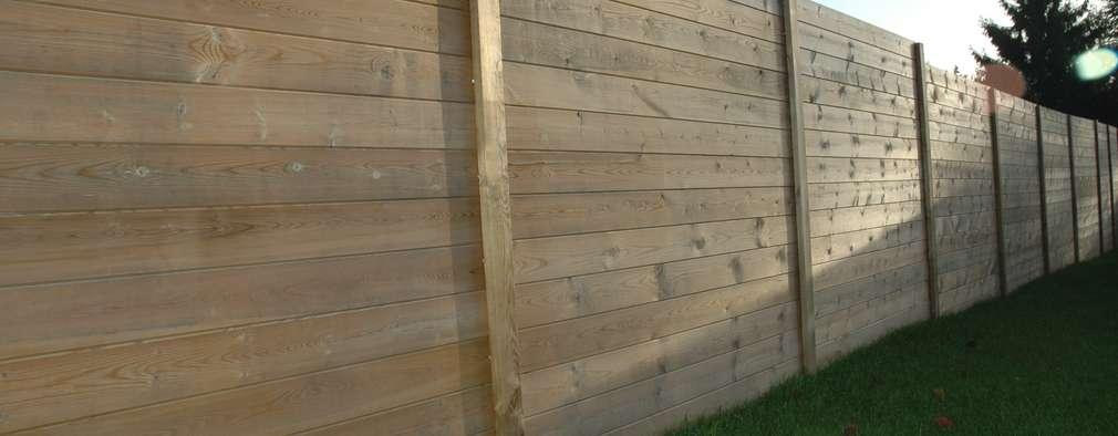 16 vallas para tu jard n que tus vecinos querr n copiar - Vallas para muros ...