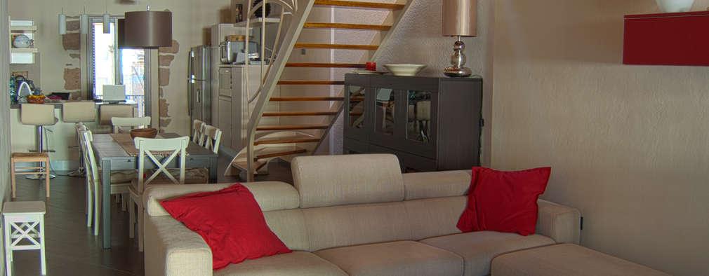 ห้องทานข้าว by Studio Architettura Arch. Francesca Tronci