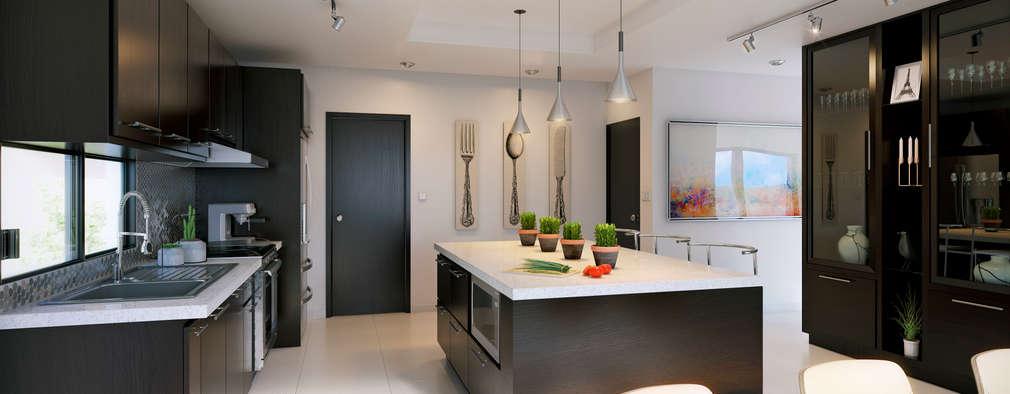 minimalistic Kitchen by arQing