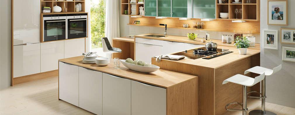 Cozinhas campestres por DanKüchen Studio Hengelo