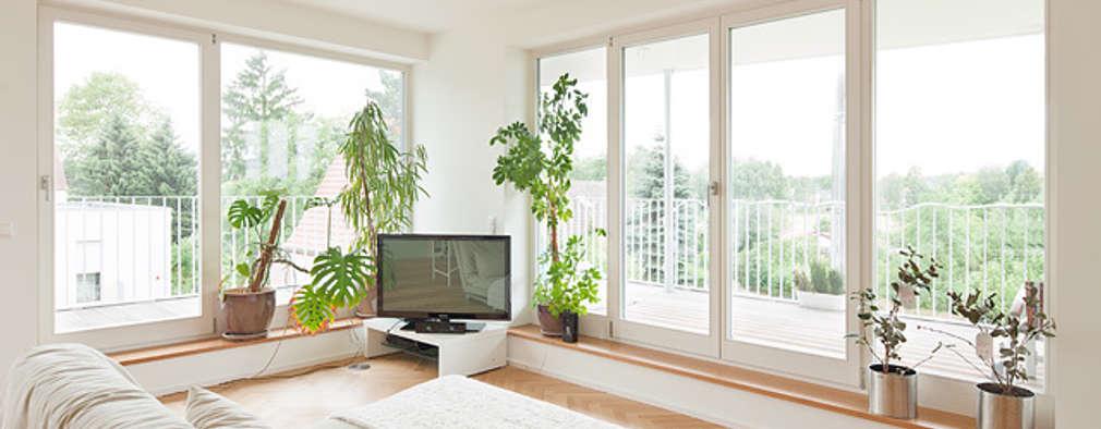 modernes wohnen mit holz. Black Bedroom Furniture Sets. Home Design Ideas