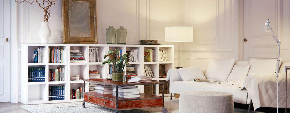 10 salas decoradas com ikea que qualquer pessoa gostaria de ter - Peluquerias decoradas por ikea ...