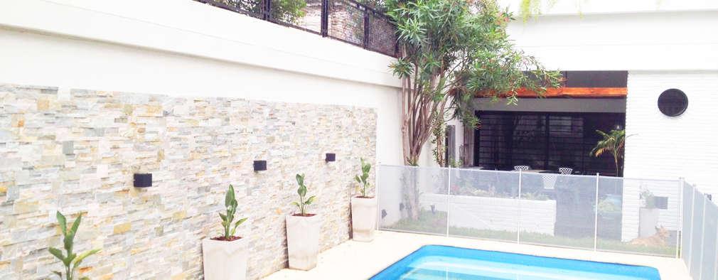 สวน by Estudio Nicolas Pierry: Diseño en Arquitectura de Paisajes & Jardines