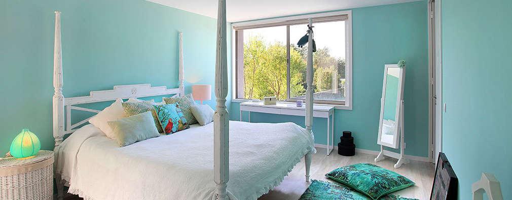 mediterranean Bedroom by ROSA PURA HOME STORE