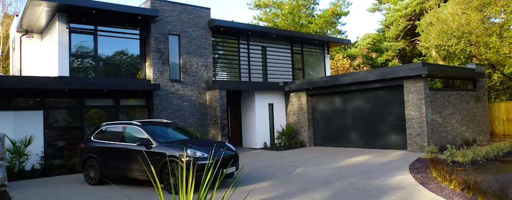 nairn road canford cliffs modern houses by david james architects u0026 associates ltd