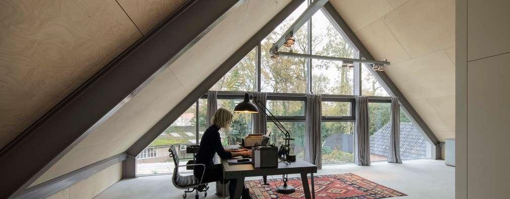 Bureau de style de style Moderne par Blok Kats van Veen Architecten