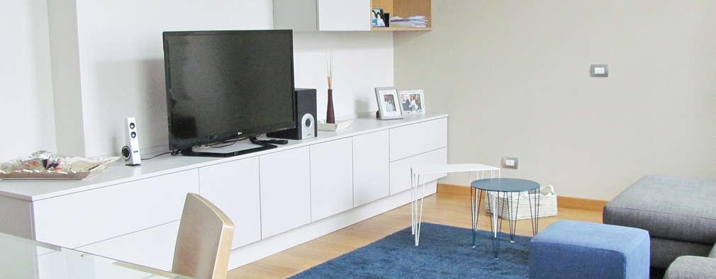 9 salones modernos decorados con poco dinero pero maravillosos - Salones modernos decorados ...