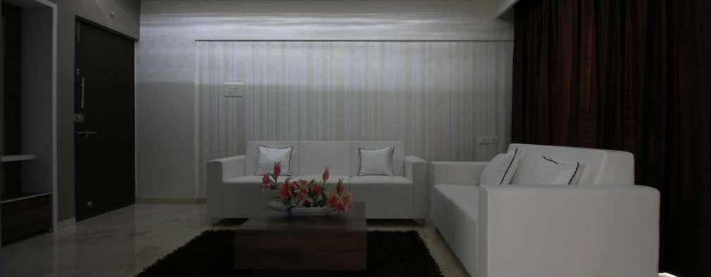 غرفة المعيشة تنفيذ Smart Space Architects
