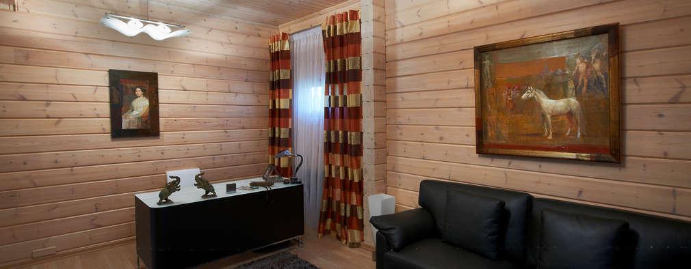 書房/辦公室 by Woody-Holzhaus - Kontio