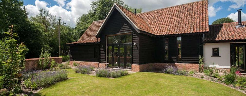 Projekty,  Dom rustykalny zaprojektowane przez Beech Architects