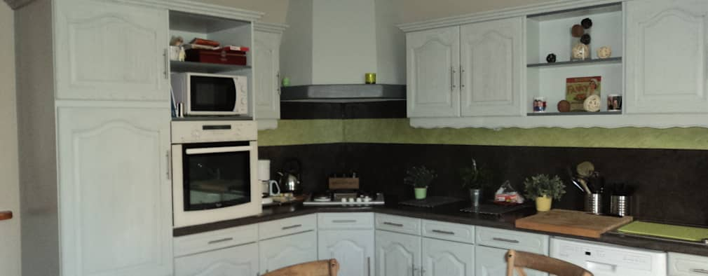 Projekty,   zaprojektowane przez les cuisines de claudine