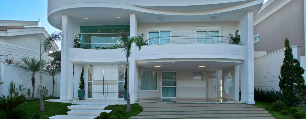 10 ideias para a cal ada na frente de casa for Ver modelos de frentes de casas