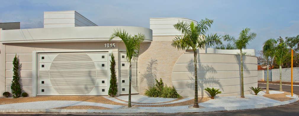 Casas de estilo moderno por Designer de Interiores e Paisagista Iara Kílaris