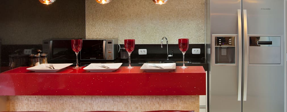 Projekty,  Kuchnia zaprojektowane przez Designer de Interiores e Paisagista Iara Kílaris